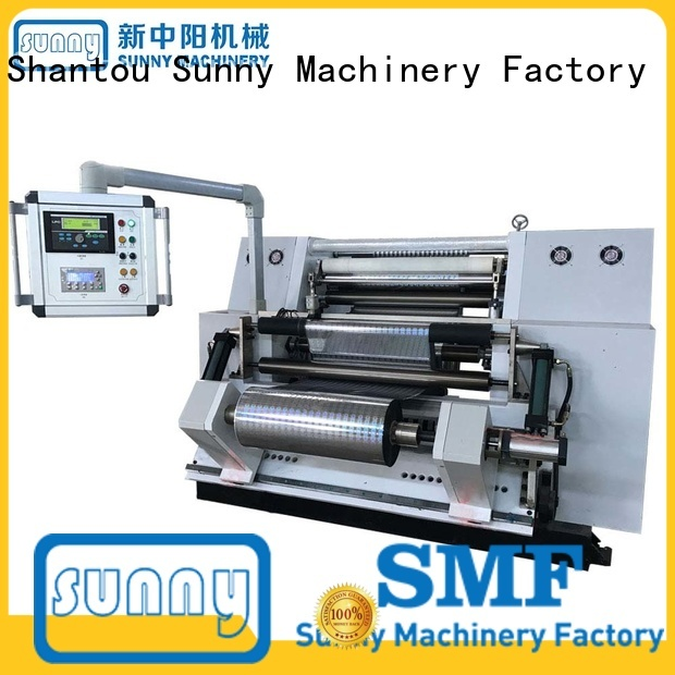 Sunny high speed rewind slitting machines manufacturer for production
