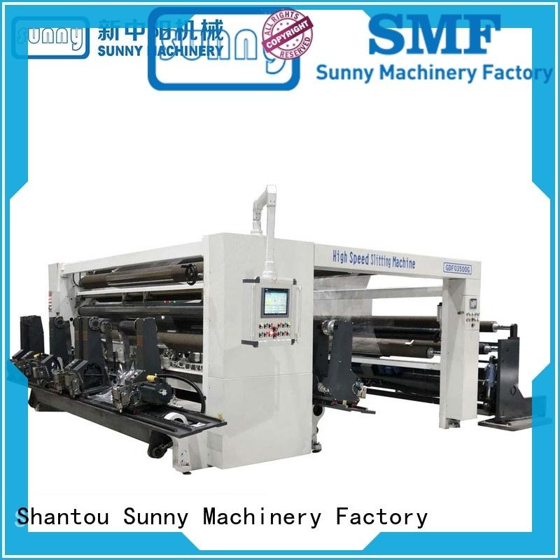 Sunny gantry slitting rewinding machine supplier for factory