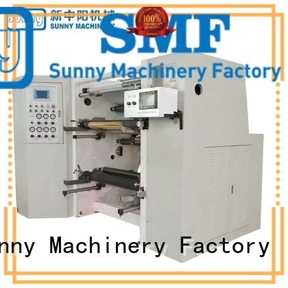 Sunny model slitting machines supplier for factory