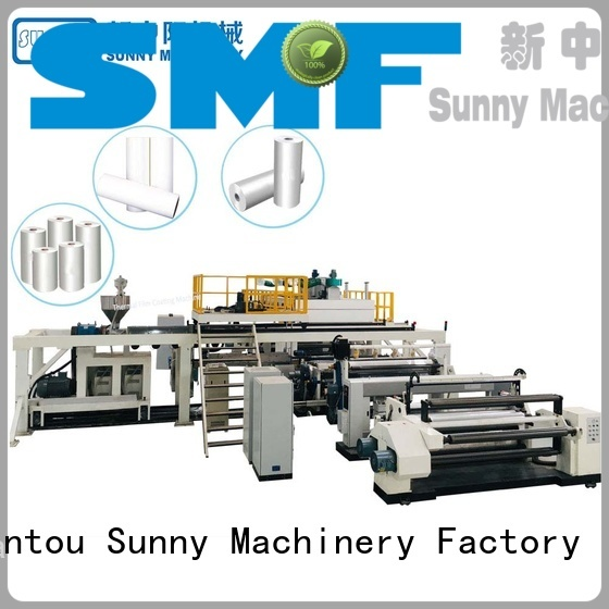 Sunny unwind extrusion coating machine manufacturer for protection film
