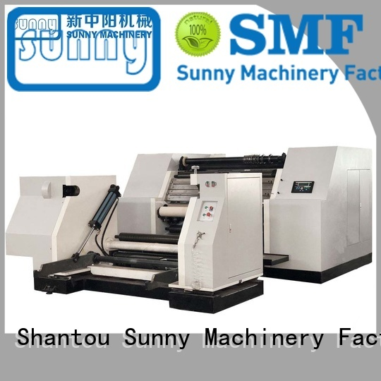 Sunny machine rewind slitting machines wholesale for factory