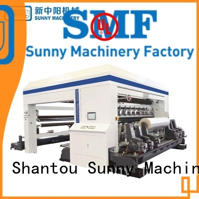 adhesive tape slitter rewinder line for factory Sunny
