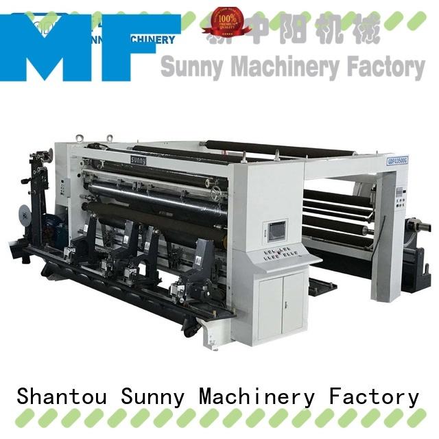 Sunny quality rewinder slitter machine supplier at discount