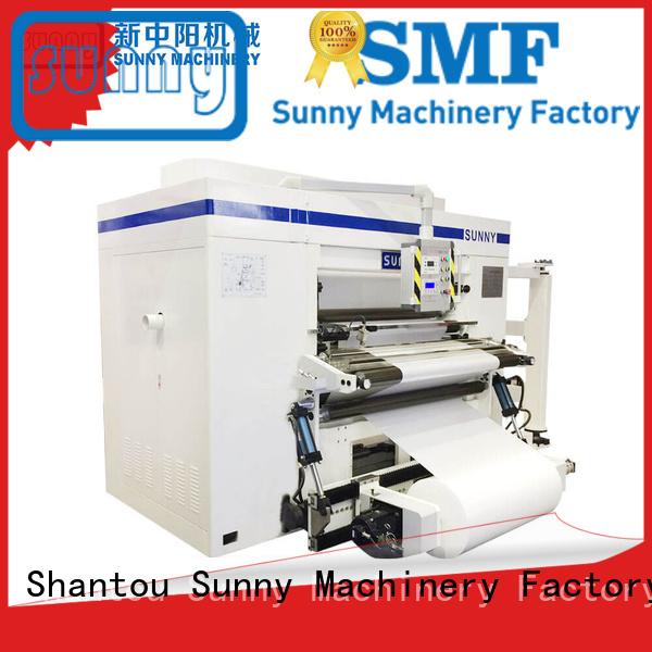 quality rewinder machine manufacturer production Sunny