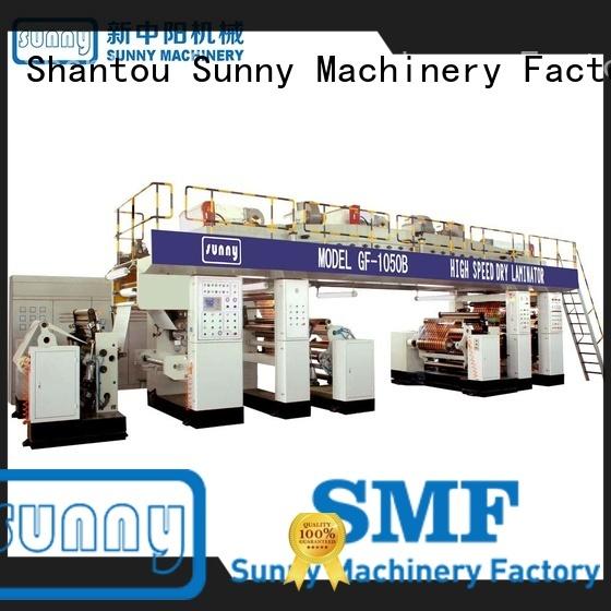 Sunny rewind extruder lamination machine supplier for packaging