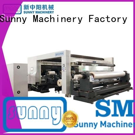 Sunny rewinder slitter machine line wholesale for sale
