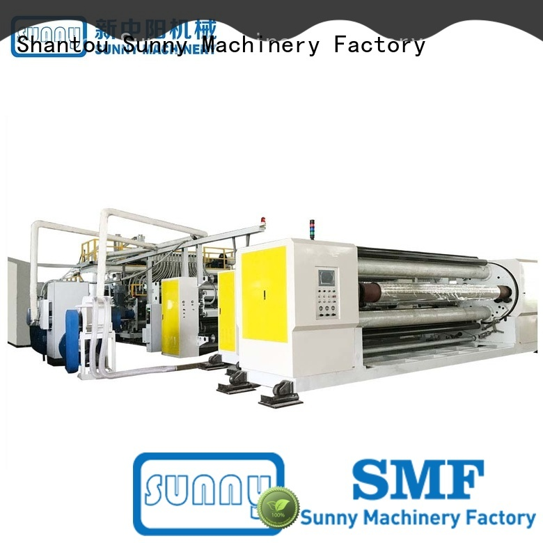 sanitary film extrusion machine line manufacturer for factory