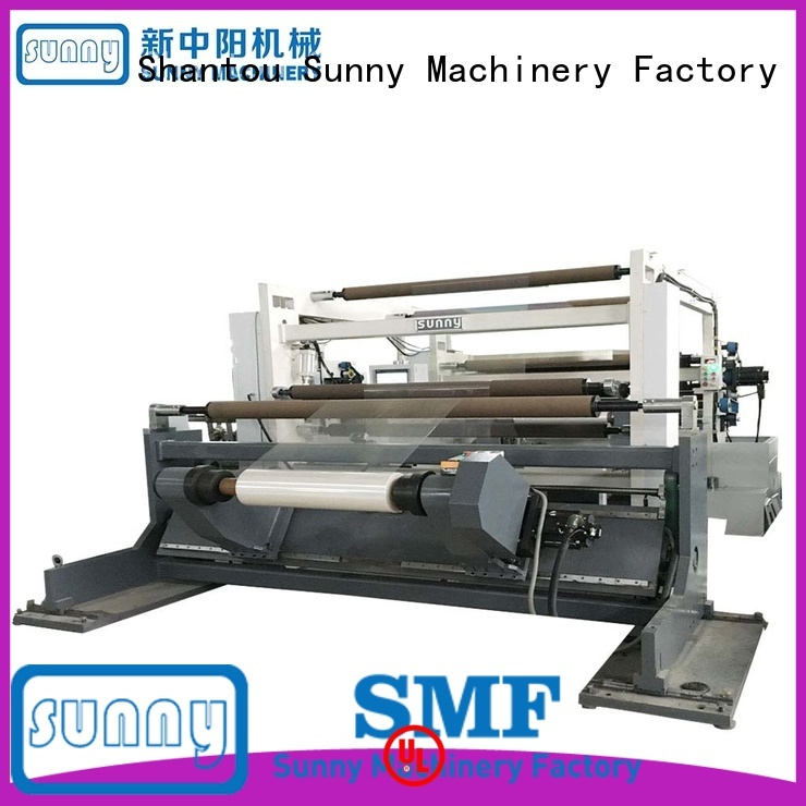 Sunny low cost rewinder slitter customized for factory