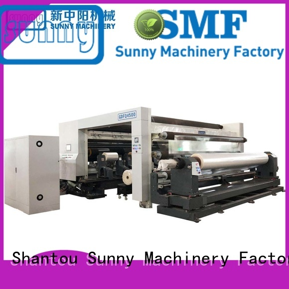 Sunny digital rewinding machinery customized for factory