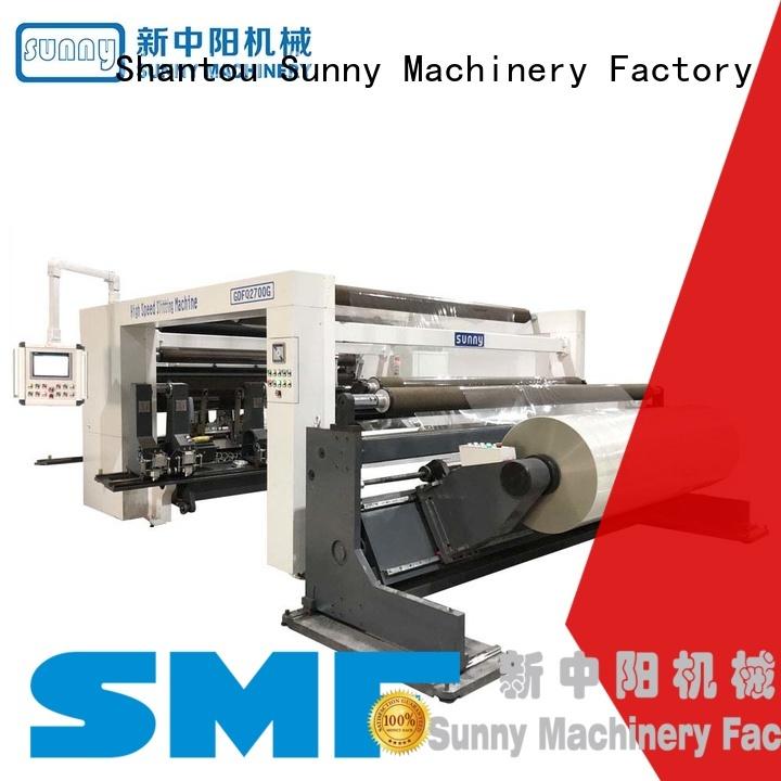 Sunny slitting machines stations supplier bulk production