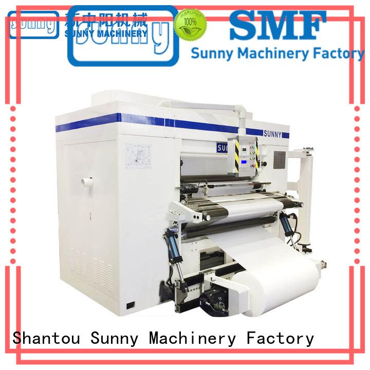 Sunny line slitting and rewinding machine manufacturer bulk production
