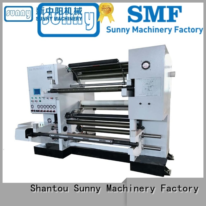 Sunny digital plastic slitting machine gantry for production