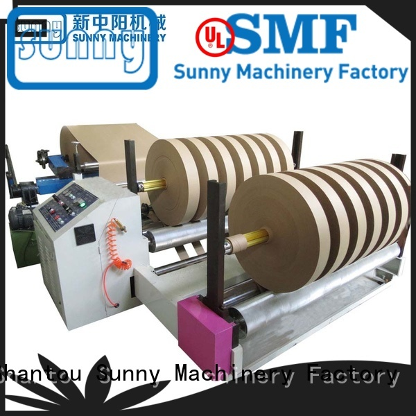 Sunny high quality slitting and rewinding machine supplier for production