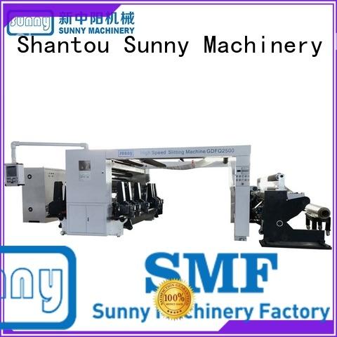 Sunny model slitting and rewinding machine customized bulk production