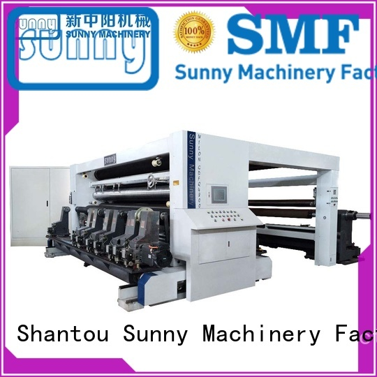 Sunny low cost rewinding and slitting machine wholesale for factory