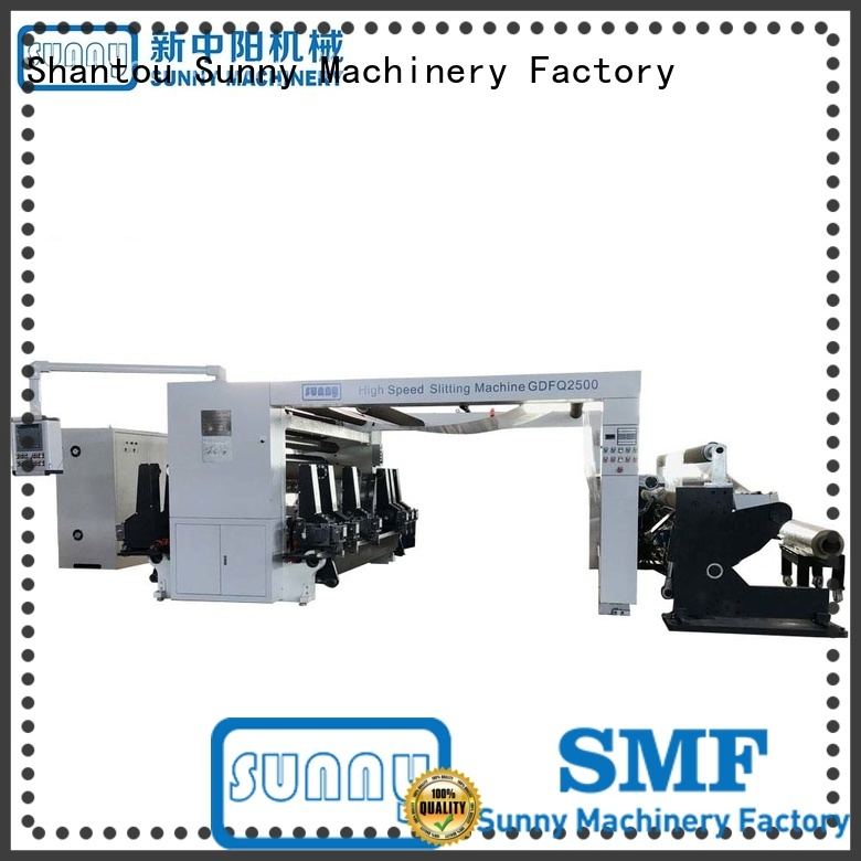 Sunny gantry roll to roll slitting machine manufacturer for sale