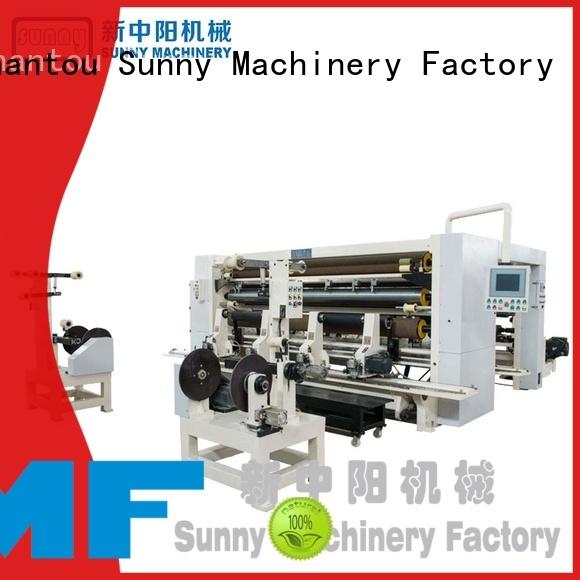 Sunny jumbo slitting rewinding machine manufacturer for production