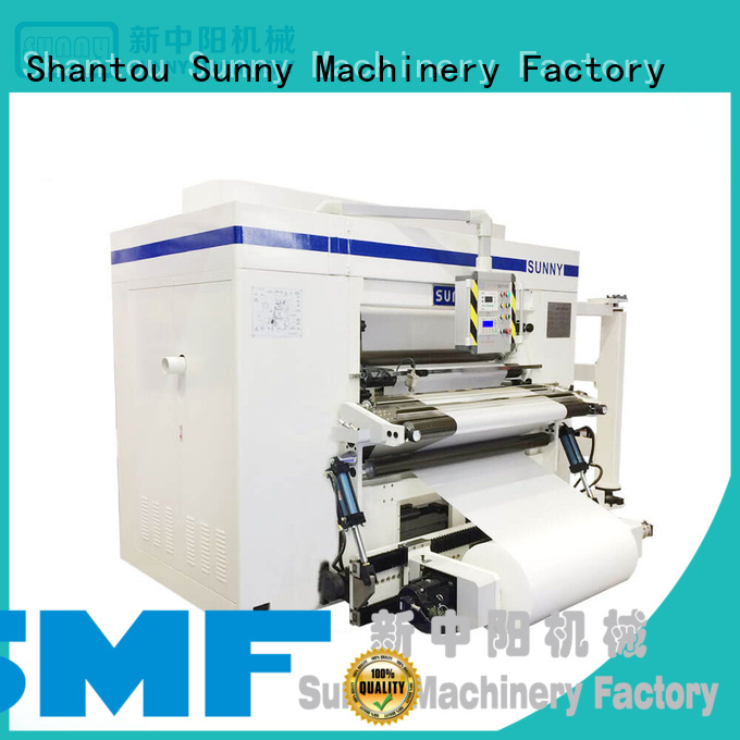 Sunny roll rewinder slitter machine wholesale for factory