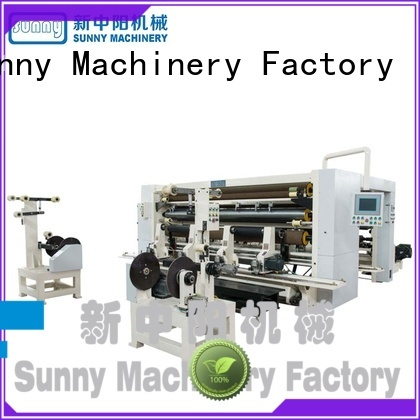 Sunny model slitting and rewinding machine wholesale for production
