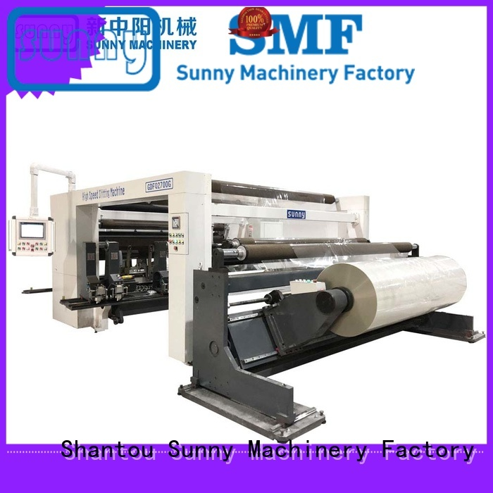 low cost slitting rewinding machine wholesale for production