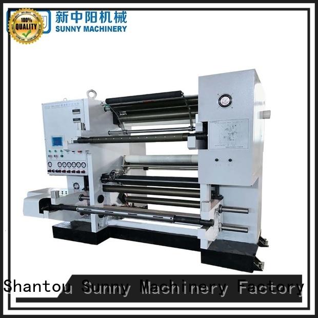 Sunny gantry slitting rewinding machine wholesale bulk production
