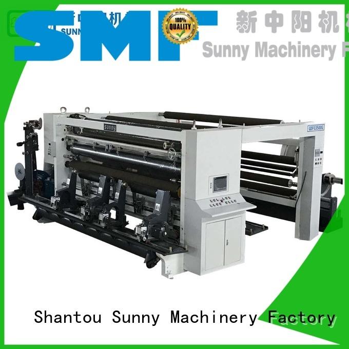 Sunny thermal rewind slitting machines manufacturer bulk production