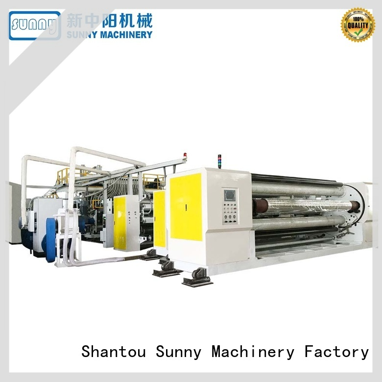 Sunny sanitary cast film line supplier laminating