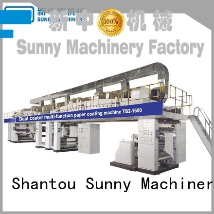 Sunny coating extrusion lamination plant manufacturer for packaging