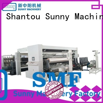 Sunny line slitter rewinder supplier bulk production