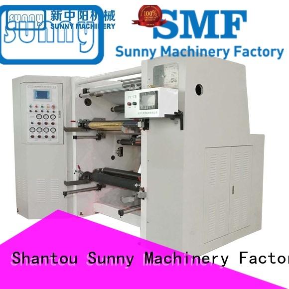 jumbo rewinder slitter machine high speed supplier at discount
