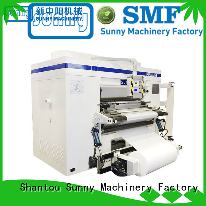 Sunny digital duplex slitter rewinder line for factory