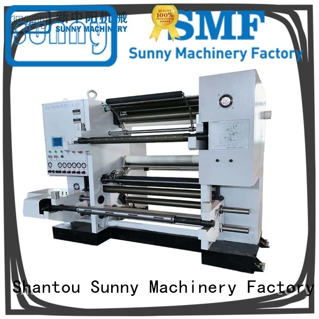 Sunny film slitting rewinding machine supplier for production