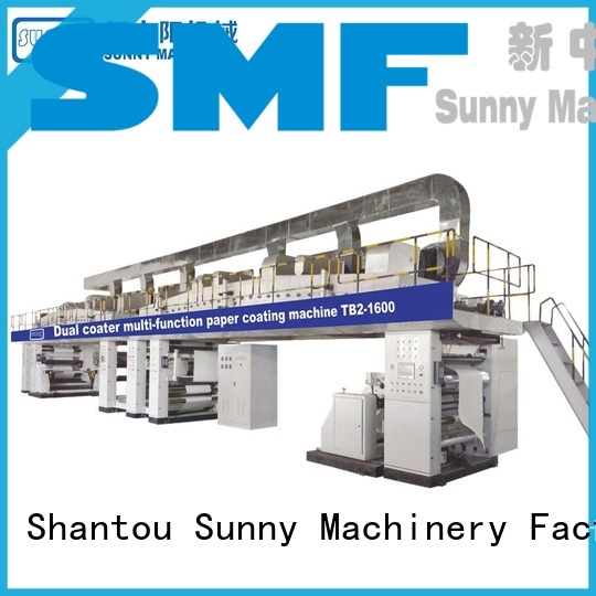 Sunny dual extrusion coating lamination plant supplier for packaging