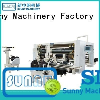 Sunny horizontal slitter rewinder customized bulk production