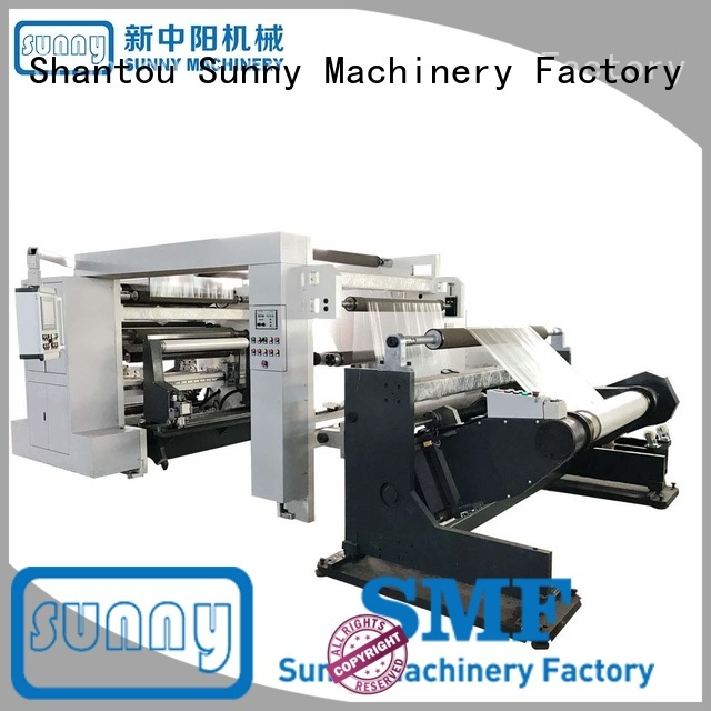 thermal slitting and rewinding machine model supplier for factory
