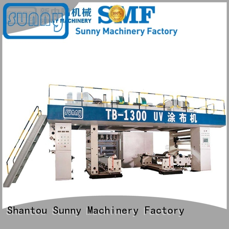 Sunny rewind extruder lamination machine customized for protection film