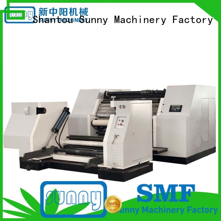 high quality rewinder slitter jumbo supplier for factory