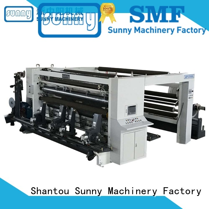 thermal slitting and rewinding machine film customized bulk production