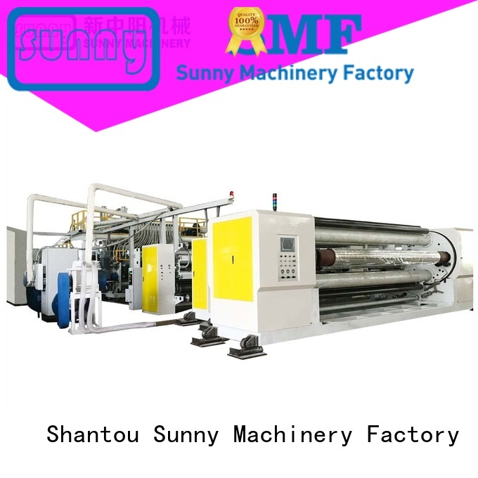 Sunny cpp cast film extrusion line supplier for packaging