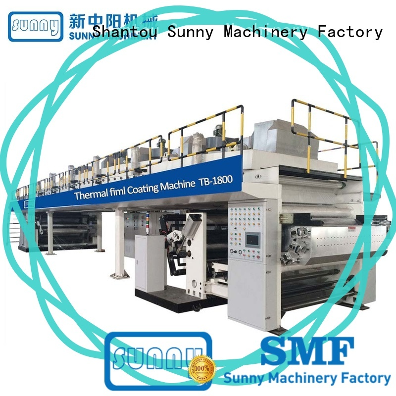 Sunny tb21600 dry laminating machine wholesale for factory