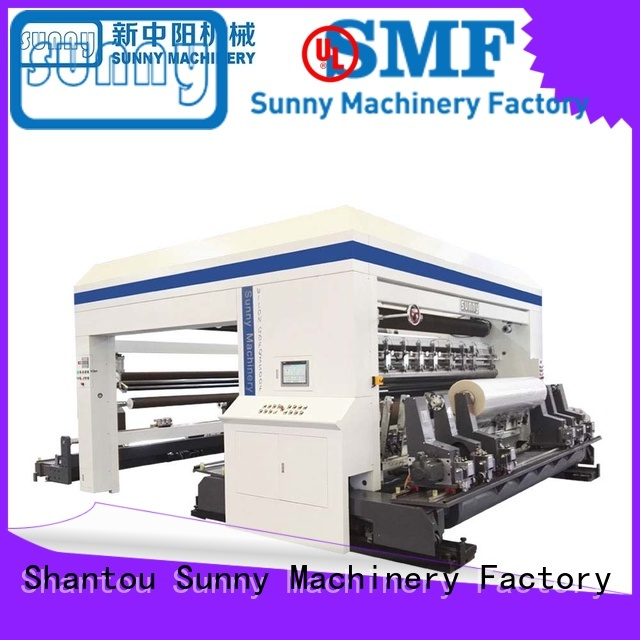 Sunny jumbo rewinding machinery wholesale bulk production