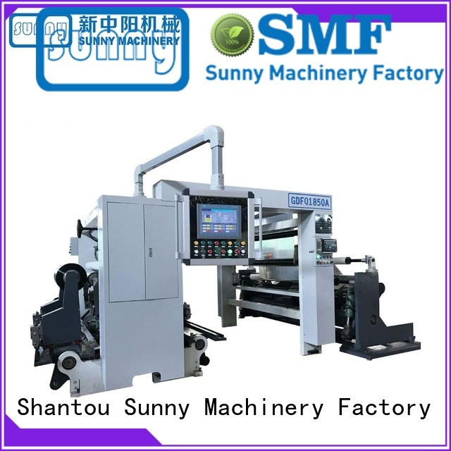 Sunny high quality high speed slitting machine customized at discount