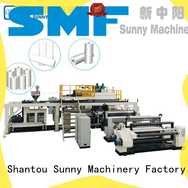 Sunny dual extruder lamination machine manufacturer for production