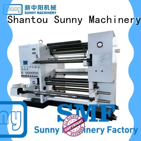 Sunny high quality rewinder slitter machine line for factory