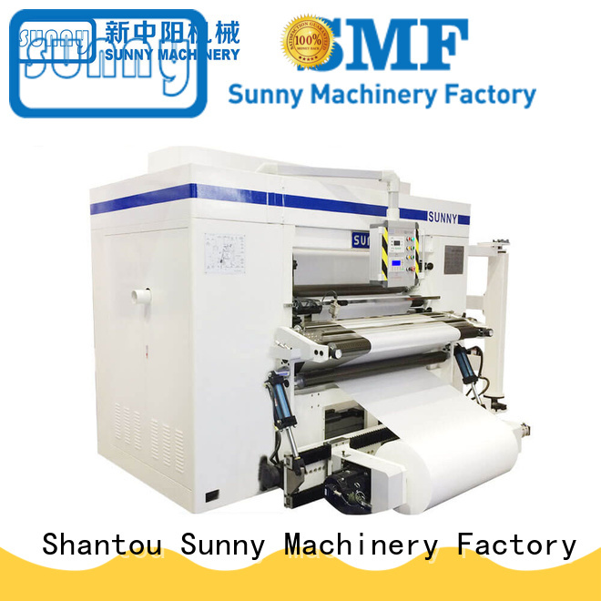 Sunny high speed slitter rewinder machine supplier for sale
