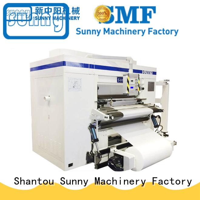 Sunny high speed slitter rewinder machine supplier for sale