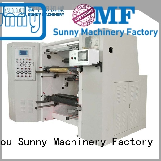 Sunny low cost slitting machines manufacturer for production