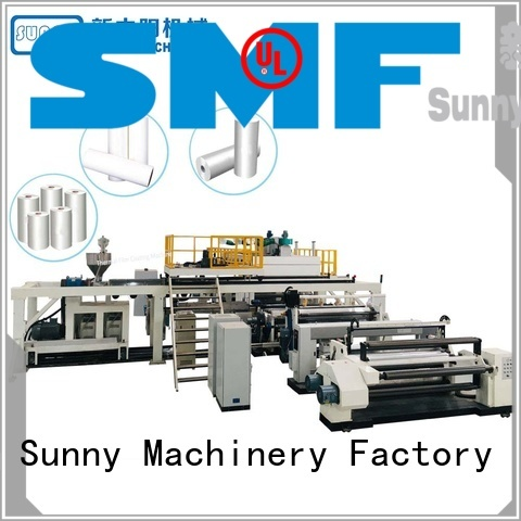 Sunny coating extrusion laminating machine supplier for factory