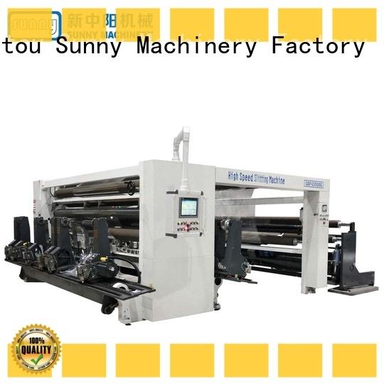 Sunny low cost rewind slitting machines manufacturer bulk production