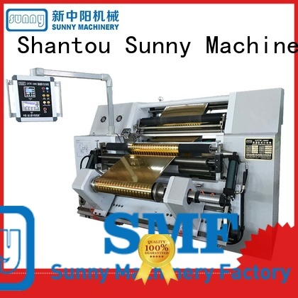 Sunny quality rewinding and slitting machine wholesale for factory